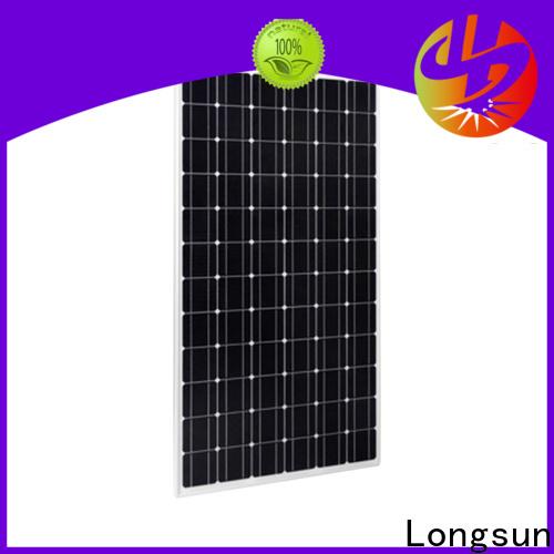 Longsun durable high tech solar panels factory price for meteorological