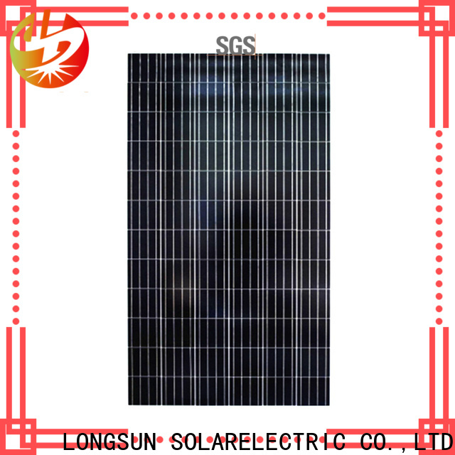 Longsun efficiency solar cell panel series for solar lawn lights