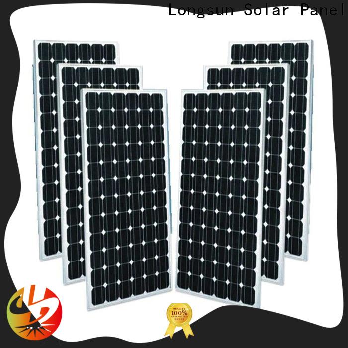 Longsun module sunpower solar panels supplier for space