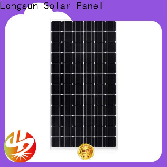 Longsun panel sunpower solar panels factory price for space