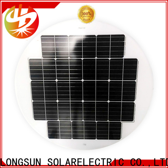 Longsun circle solar cell panel supplier for other Solar applications