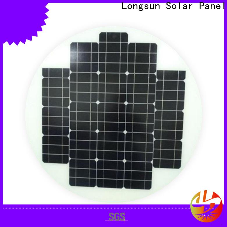 Longsun circle new solar panels series for other Solar applications