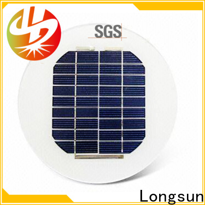 Longsun widely used new solar panels factory price for Solar lights