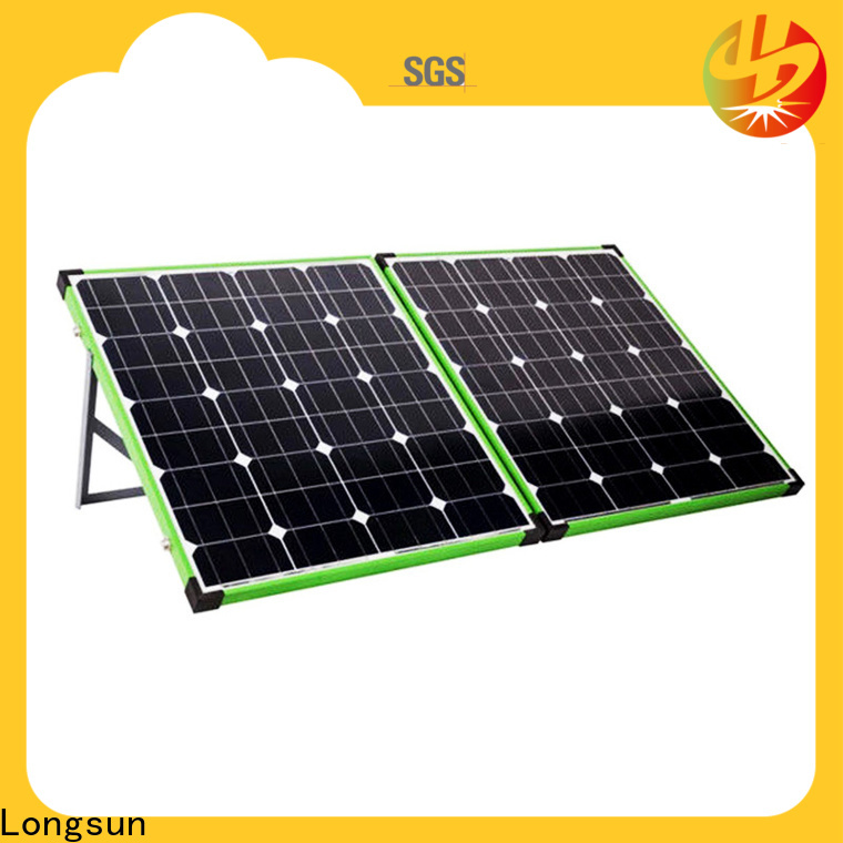 Longsun foldable foldable solar panel producer for caravaning