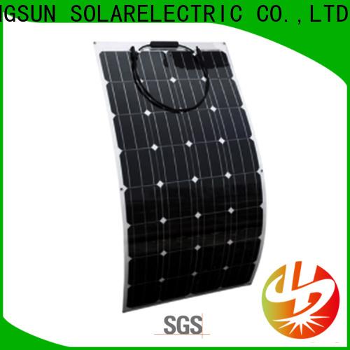 Longsun flexible advanced solar panels directly sale for roof of rv