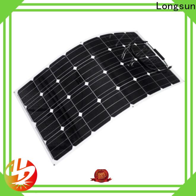 natural semi-flexible solar panel semi wholesale for yachts