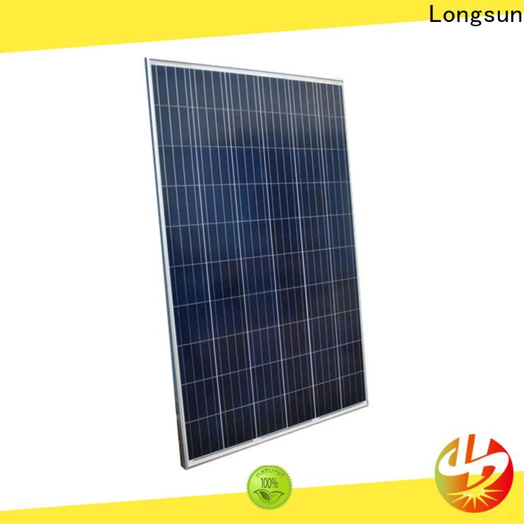 Longsun competitive price high tech solar panels for powerless area