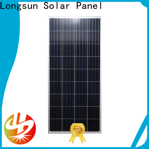 Longsun natural solar panel suppliers owner for solar power generation systems
