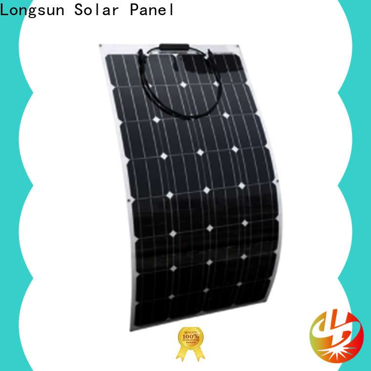 Longsun panel semi-flexible solar panel marketing for yachts