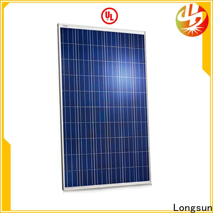 long-lasting highest watt solar panel 330w wholesale for lamp power supply