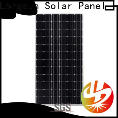 Longsun durable high output solar panel series for communication field