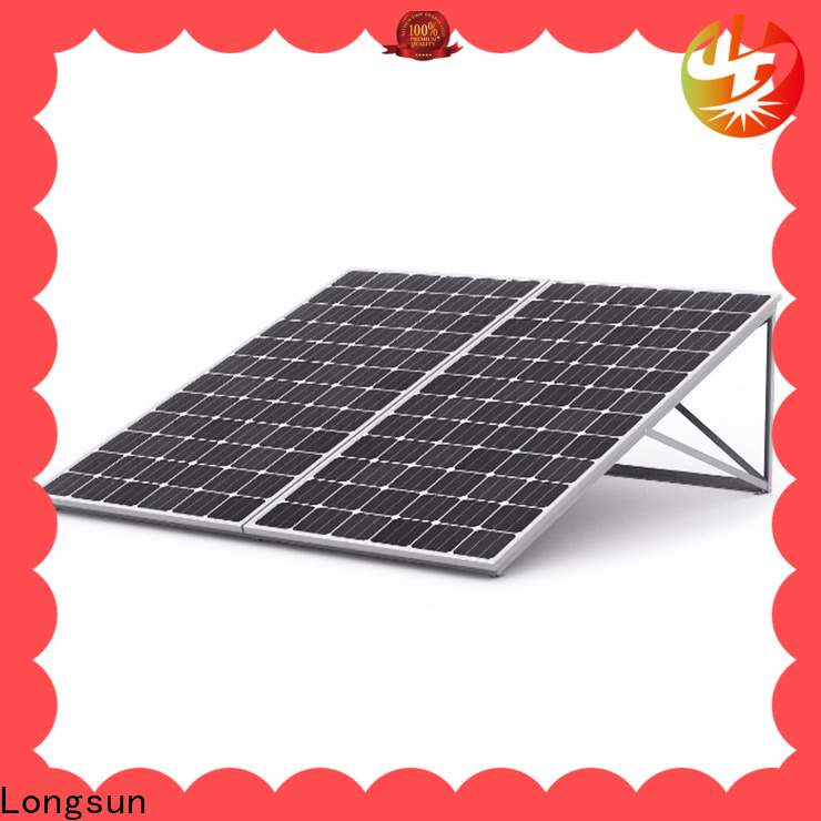 Longsun online sunpower solar panels customized for lamp power supply