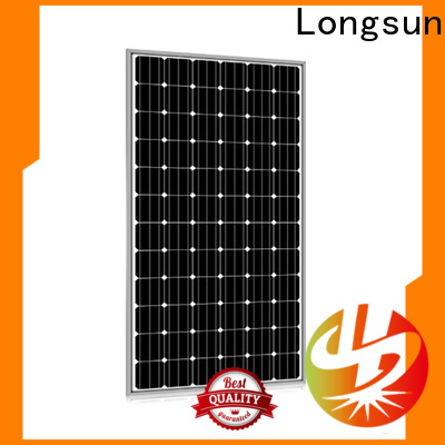 Longsun competitive price best solar panel company supplier for traffic field
