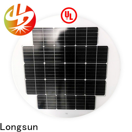 Longsun UV resistant round solar panels to decorative for other Solar applications