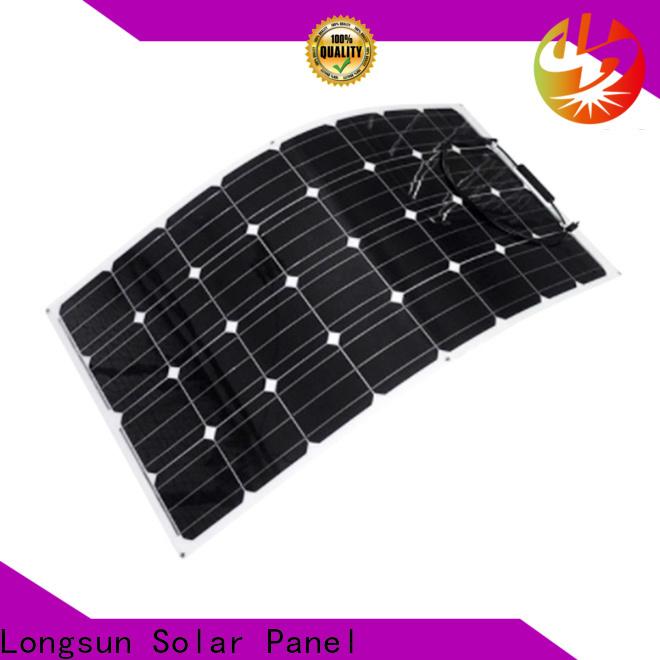 Longsun 60w flexible solar panels wholesale for roof of rv