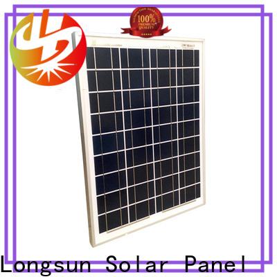 Longsun widely used polycrystalline solar panel supplier for solar lawn lights