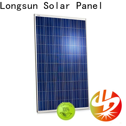 Longsun competitive price high capacity solar panels factory price for meteorological