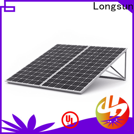 Longsun widely used high quality solar panel marketing for communication field