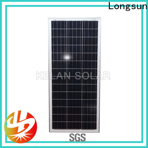 Longsun natural solar module suppliers directly sale for solar street lights
