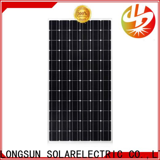 Longsun pv monocrystalline solar cell overseas market for ground facilities