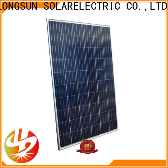 competitive price high quality solar panel 285w for lamp power supply