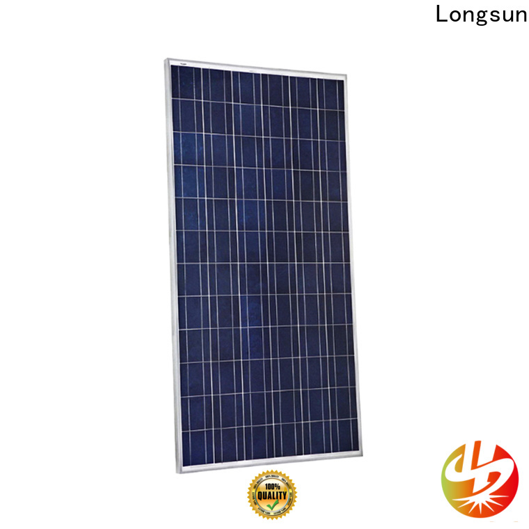 Longsun series high output solar panel customized for traffic field