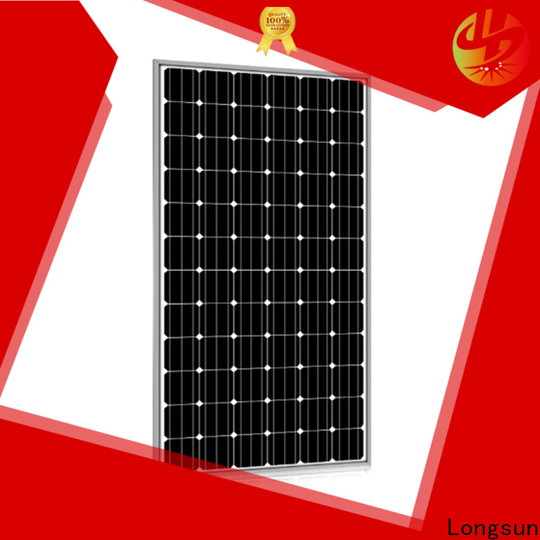 Longsun series high quality solar panel manufacturer for photovoltaic power station