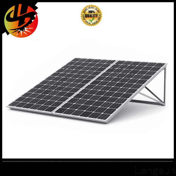 Longsun widely used solar panel manufacturers supplier for traffic field