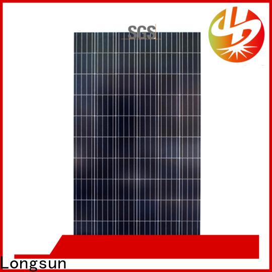 Longsun panel polycrystalline solar panel wholesale for aerospace