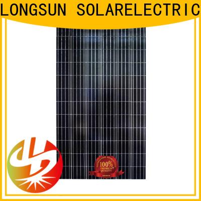Longsun competitive price polycrystalline solar module dropshipping for solar street lights