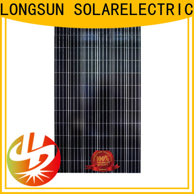 Longsun competitive price polycrystalline solar module dropshipping for solar street lights