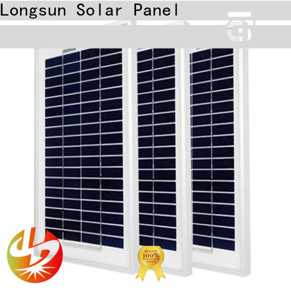 Longsun widely used solar module suppliers supplier for solar street lights