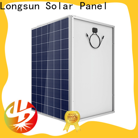 Longsun competitive price high quality solar panel supplier for traffic field