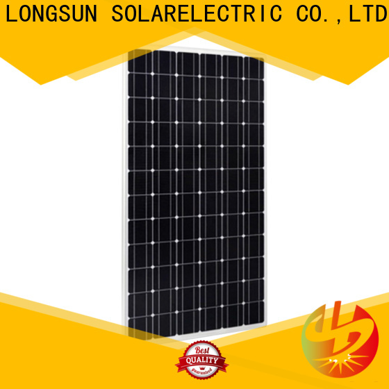 Longsun competitive price best solar panel company factory price for powerless area