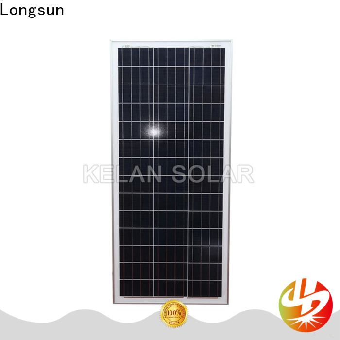 Longsun competitive price solar module suppliers owner for solar street lights