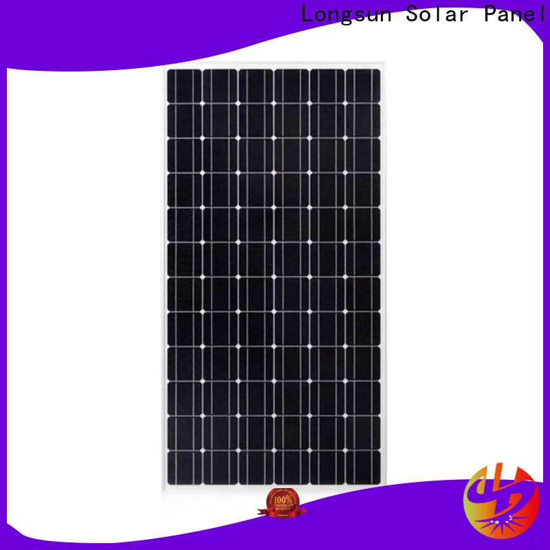 Longsun pv solar panel manufacturers overseas market for ground facilities