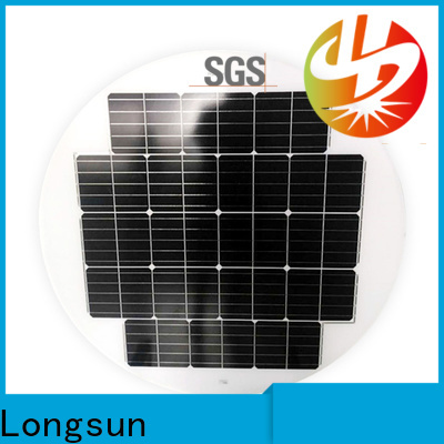 Longsun good to use solar cell panel to decorative for Solar lights