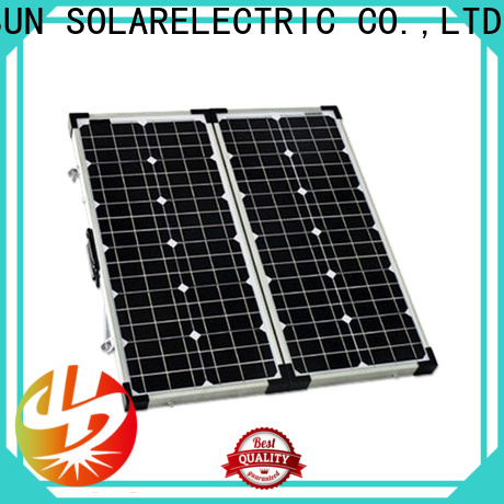 Longsun high quality folding solar panels supplier for boating