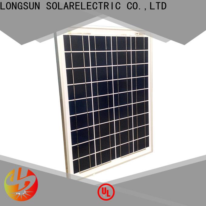 Longsun 150w solar module suppliers supplier for solar power generation systems