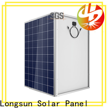 Longsun poly high quality solar panel marketing for photovoltaic power station