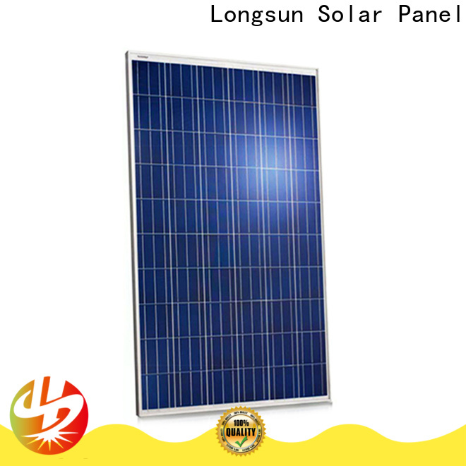 Longsun poly high power solar panels customized for meteorological