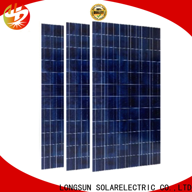 Longsun 340w highest watt solar panel customized for petroleum