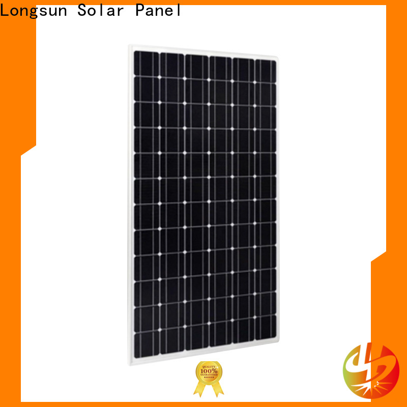 Longsun professional highest watt solar panel series for marine