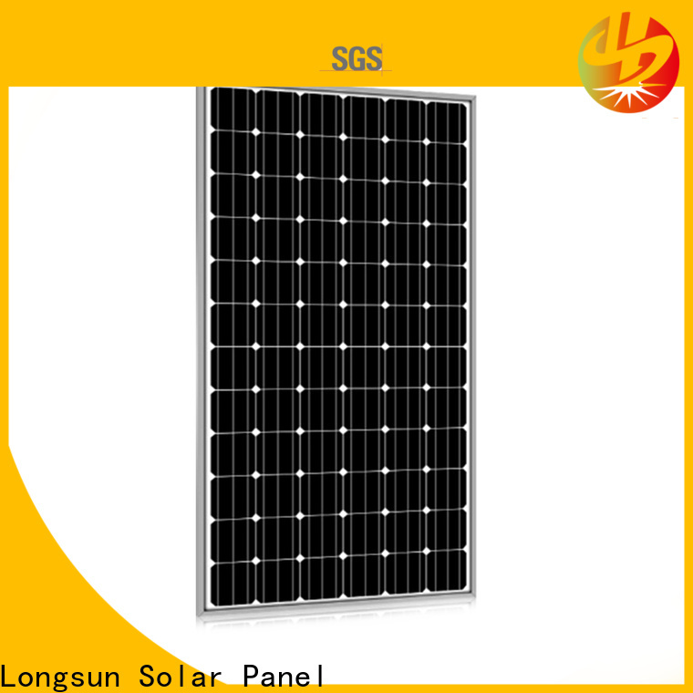 Longsun 315w highest watt solar panel customized for meteorological