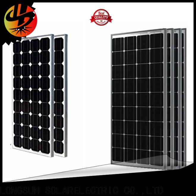 Longsun online high quality solar panel series for traffic field