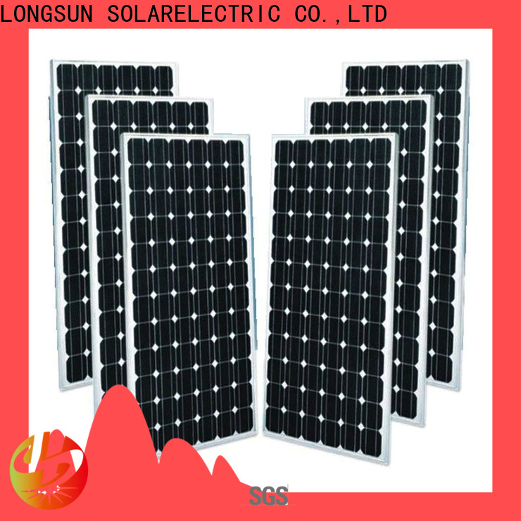 Longsun panel mono pv module supplier for ground facilities