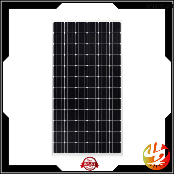 Longsun mono solar solar panel manufacturers producer for ground facilities