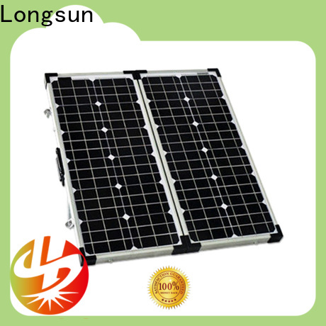 Longsun charger folding solar panels overseas market for camping