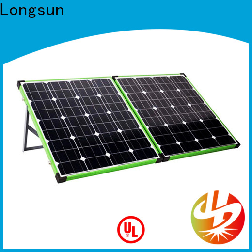 Longsun folding solar panel manufacturers supplier for caravaning