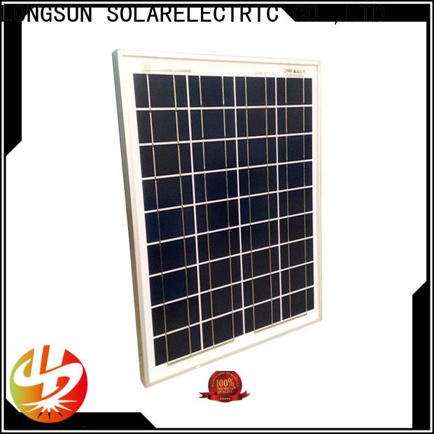 Longsun output solar panel suppliers series for solar street lights